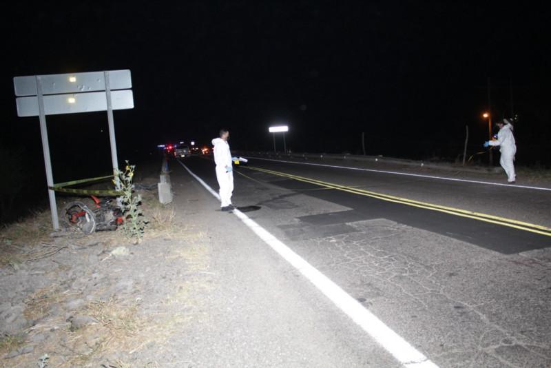 Fallece vecino de El Salado en accidente automovilístico