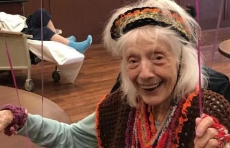 Mujer de 101 años sobrevive a la Gripe Española, el cancer y ahora vence al Covid-19