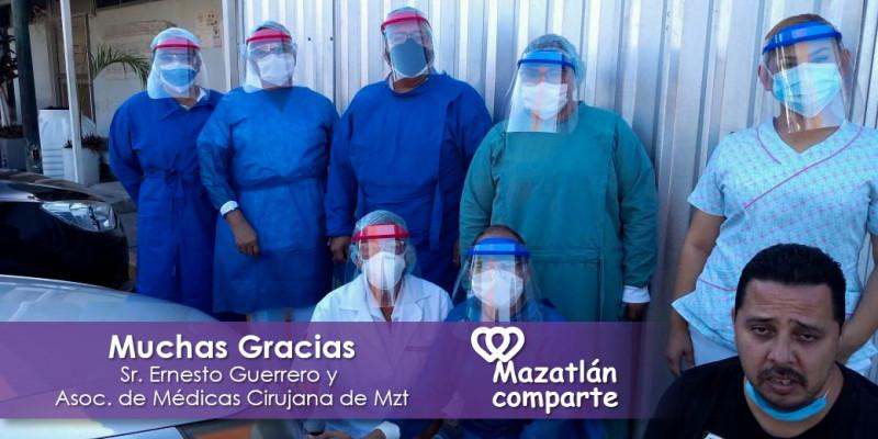 """""""Mazatlán Comparte"""" busca ayudar al prójimo en esta emergencia sanitaria"""