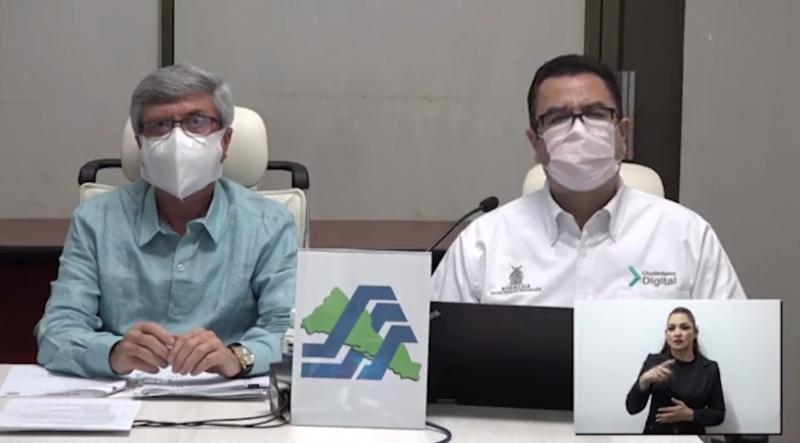 Secretaría de Salud Estatal da a conocer asentamientos con casos de COVID confirmados
