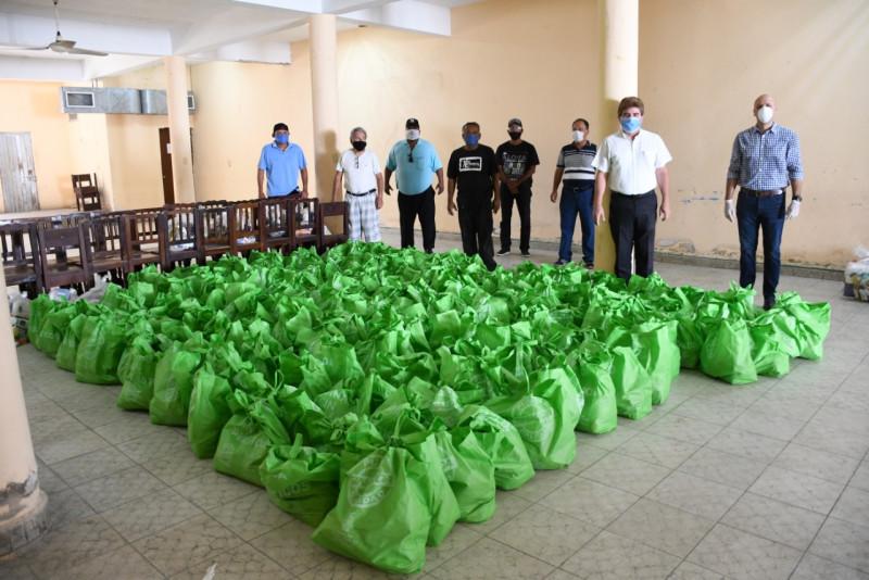 ISIC entrega despensas al Sindicato de Músicos de Mazatlán