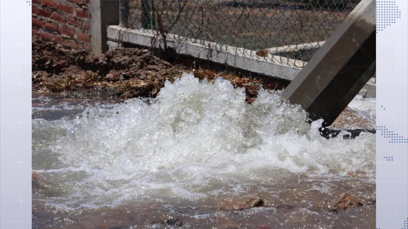 Se queda sin agua medio Mazatlán