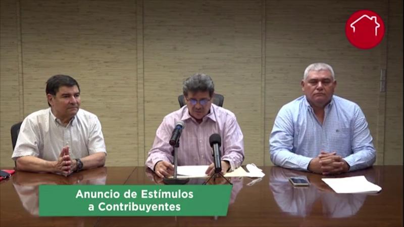 Gobierno de Sinaloa anuncia paquete de estímulos fiscales