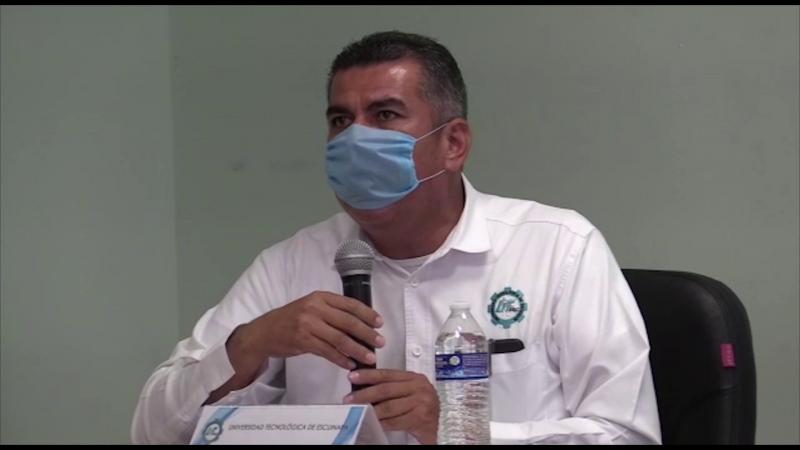 Universidad de Escuinapa entrega en comodato ventilador a Hospital