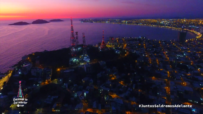 TVP Mazatlán enciende luces de la esperanza