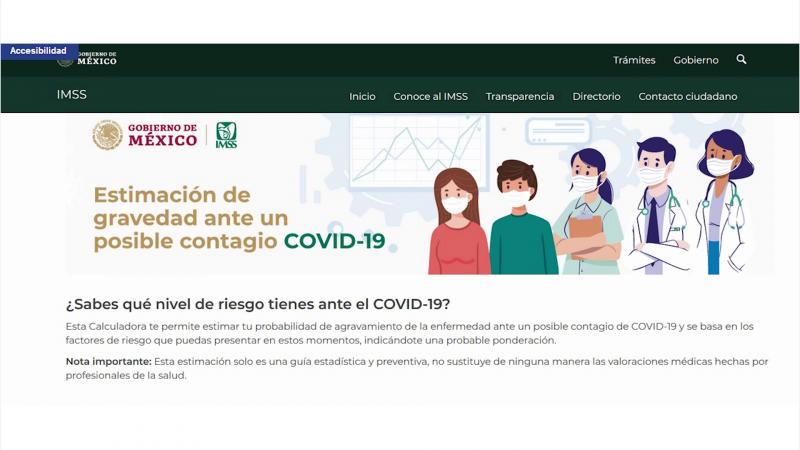 Calcula tu nivel de riesgo ante el COVID-19