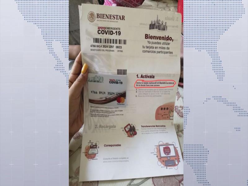 Desactivan en Chiapas a red de fraudeadores con tarjetas del Bienestar