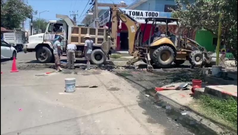 Repuntan colapsos de tuberías en plena emergencia sanitaria