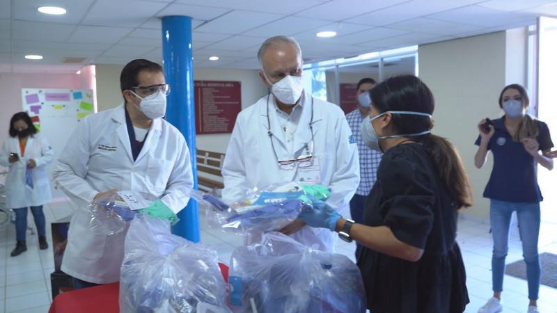 Recauda la JAP 270 mil pesos que entrego en apoyos en especie a 3 hospitales