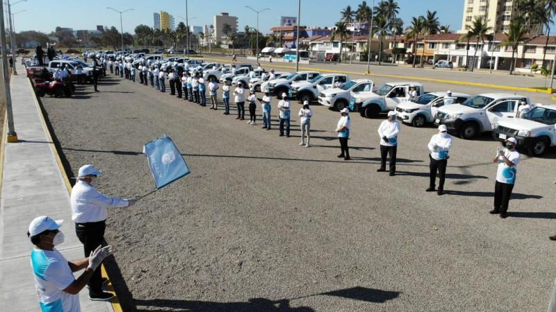 Operativo desplegará 160 unidades este 10 de mayo en Mazatlán