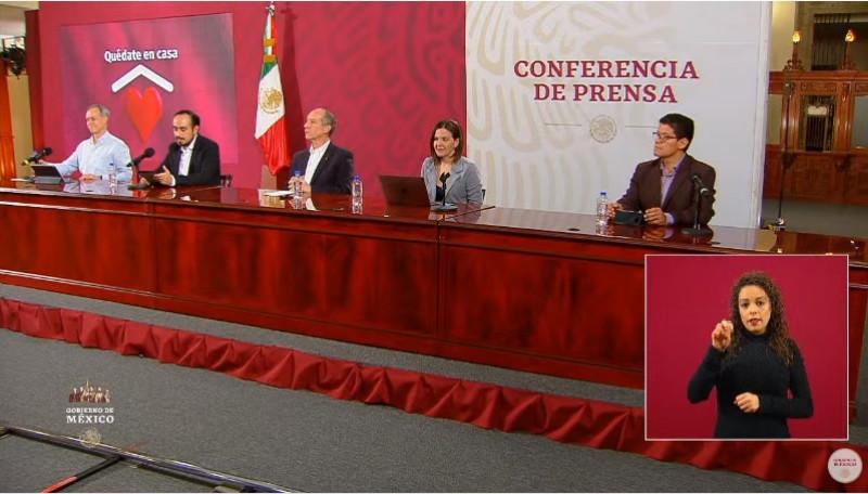 Sinaloa registra 36% de saturación hospitalaria y Sonora 13%. Se acumulan 33 mil 460 infectados de Covid-19 a nivel nacional