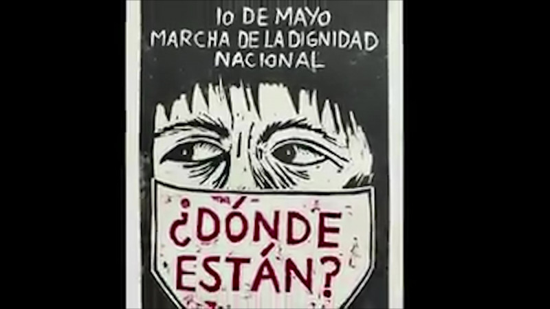 Realizan marcha virtual madres de desparecidos