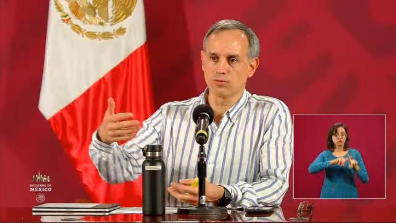 35 mil 022 casos acumulados y 3 mil 465 fallecimientos por Covid-19 en México hasta este 10 de mayo