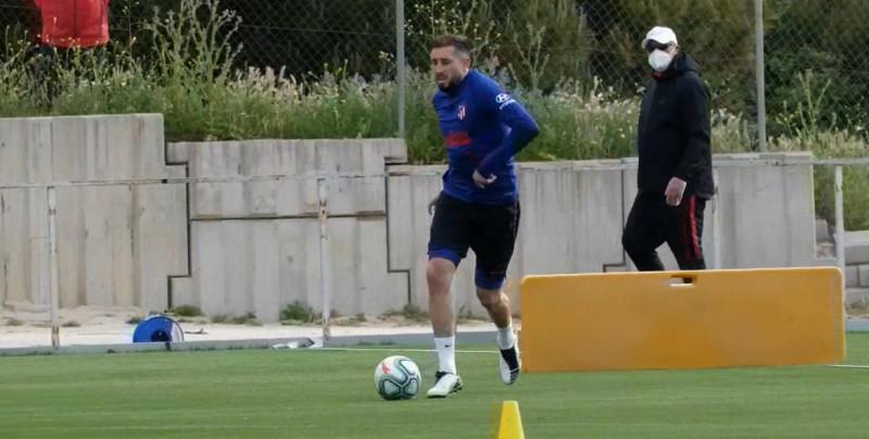 Atlético de Madrid regresa a sus entrenamientos