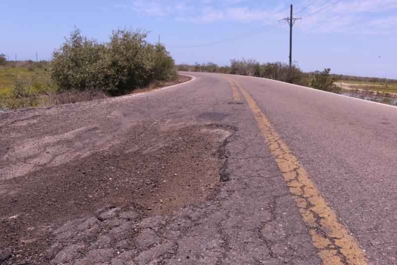 Reconstruirán  la carretera Agua Verde – El Caimanero
