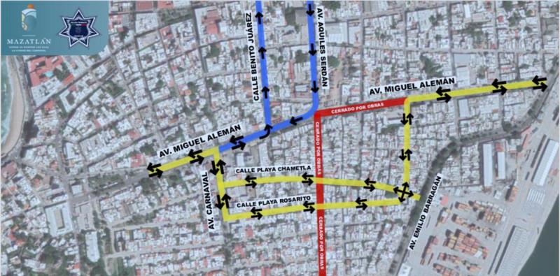 Tránsito anuncia cierre de calles en Av. Alemán