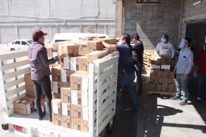 Entrega DIF Sinaloa apoyo extraordinario de 20 mil despensas