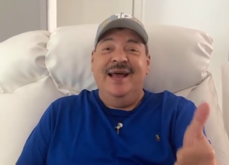 Julio Preciado da negativo a Covid-19 y explica como realmente estuvieron las cosas