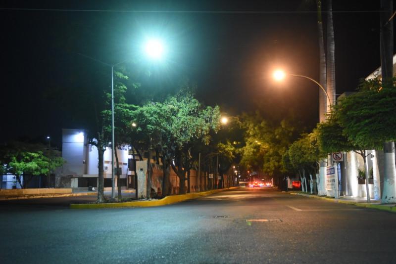 90% de avance en instalación de luminarias con tecnología LED