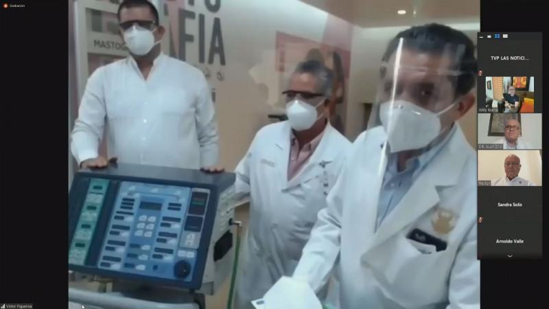 Adquiere la UAS 5 ventiladores para pacientes con COVID