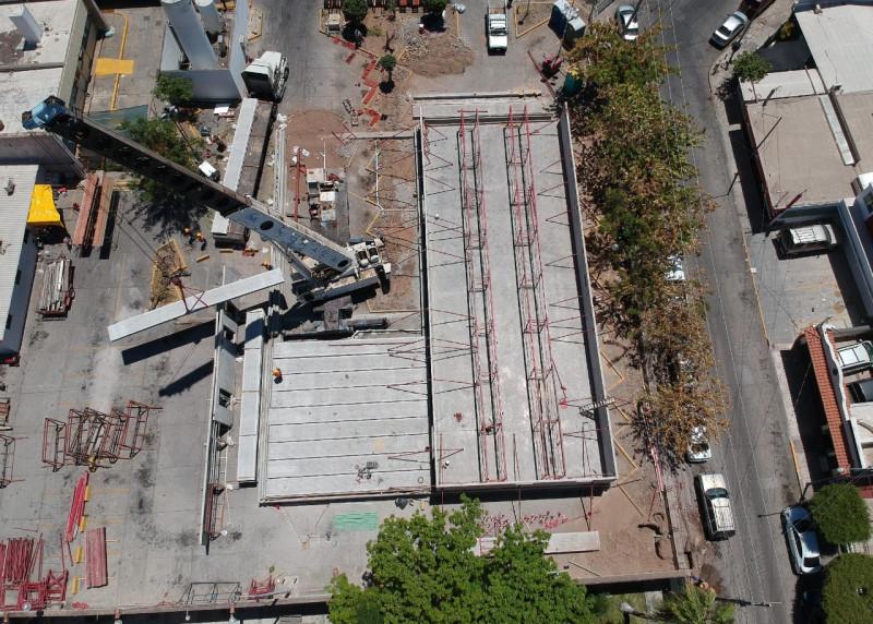 Construye el IMSS hospital móvil para atender COVID en Culiacán