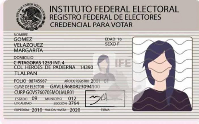 INE analiza sigan vigentes credenciales hasta septiembre