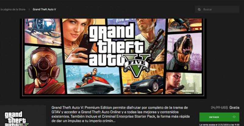 Te decimos como descargar e instalar gratis el juego GTA  V para PC. Tienes hasta el 21 de mayo para hacerlo