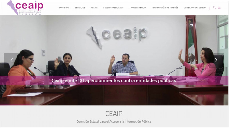 Exhorta CEAIP a informar  de las acciones por  la emergencia sanitaria