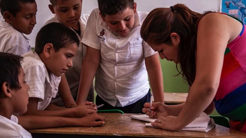 Destaca Diputada el profesionalismo de maestros ante el Covid-19