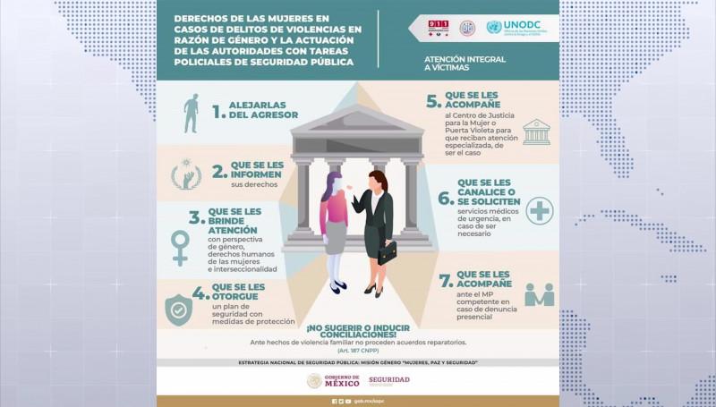 Derechos de las mujeres en casos de delitos de violencia