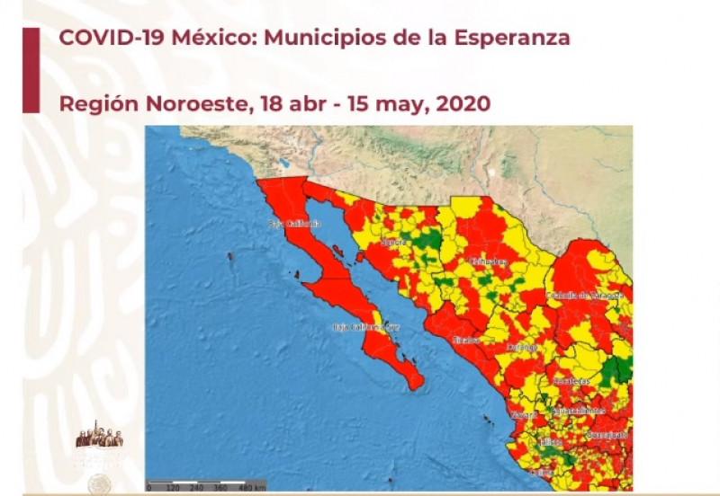 """Mira los """"municipios de la esperanza"""" en nuestra región que podrán salir de la cuarentena el lunes"""