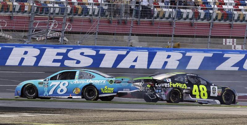La NASCAR regresó a la actividad este fin de semana