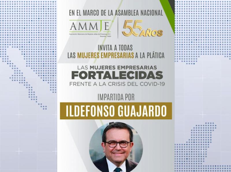 AMMJE llevará a cabo conferencia virtual con economista Guajardo