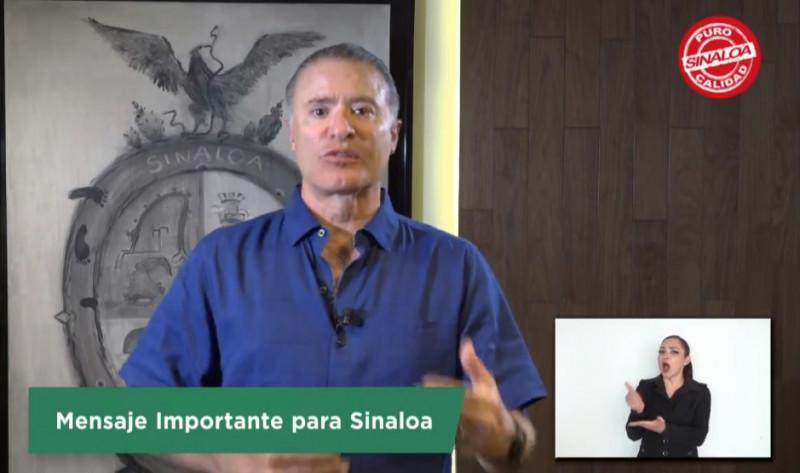 """Quirino anuncia el fin de la """"Ley Seca"""" en todo Sinaloa"""