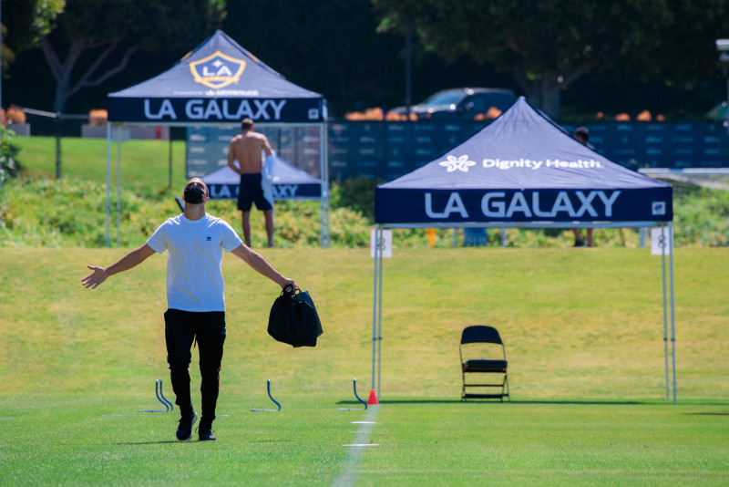 Los Ángeles Galaxy regresan a los entrenamientos