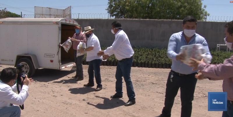 Senador Arturo Bours Griffith envia apoyo al Huatabampo