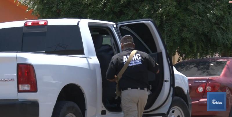 Buscan autoridades cámaras en la escena del crimen