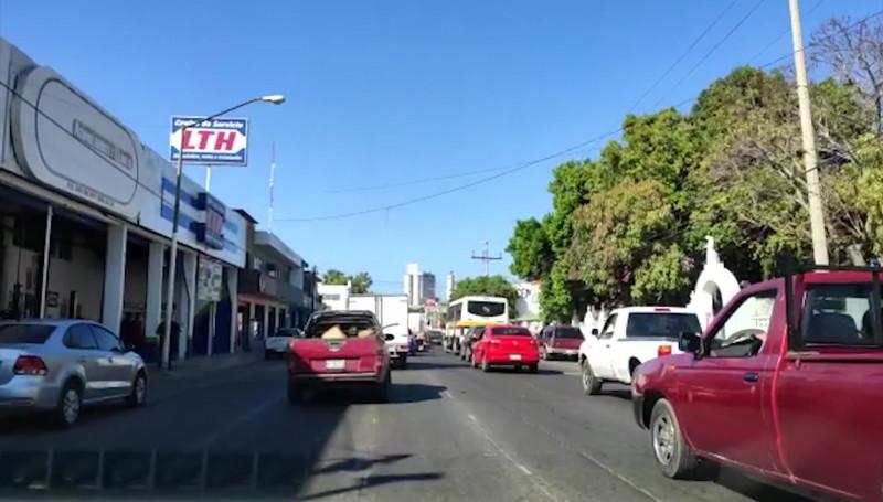 Trabajos de la Avenida Gabriel Leyva congestionan el tráfico por momentos
