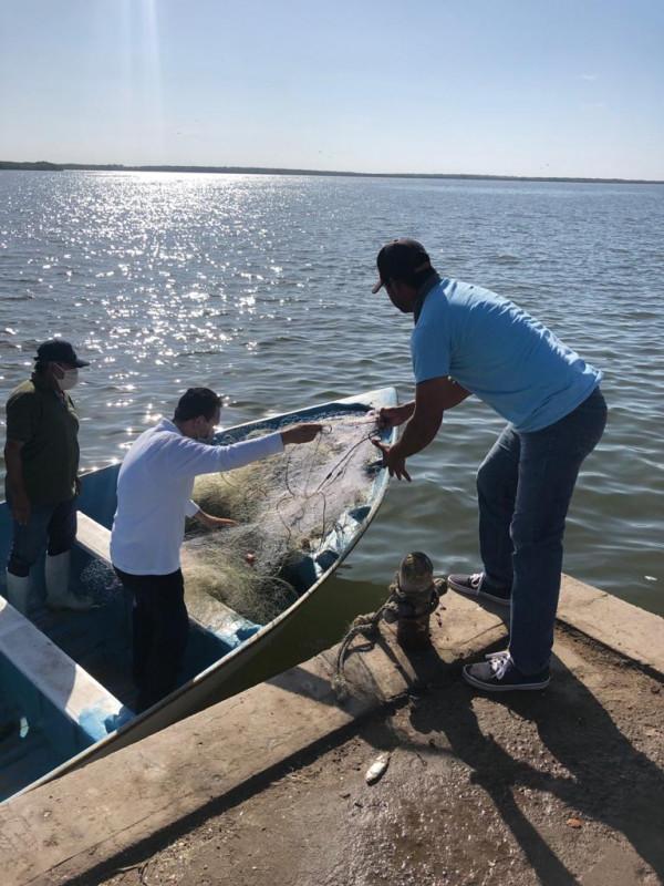 Aplican el programa estatal de inspección y vigilancia para evitar la pesca ilegal