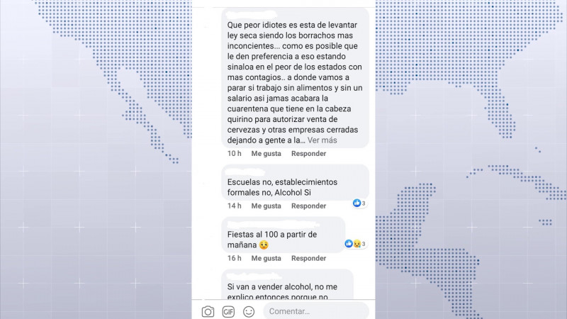 Genera reacciones fin de la Ley Seca en Sinaloa