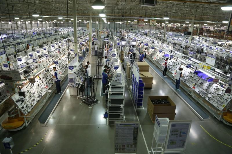 En marzo la industria manufacturera tuvo una caída