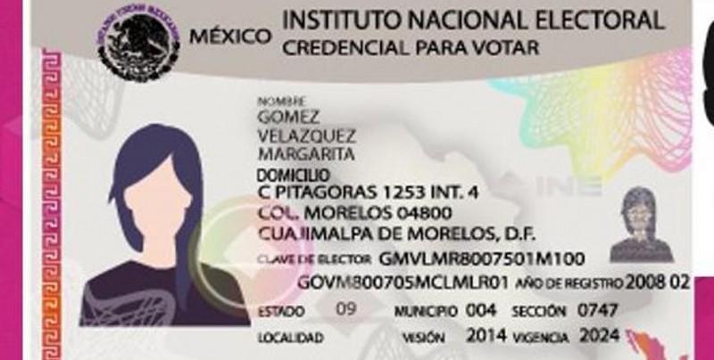 Por Covid, INE amplía vigencia de credenciales hasta septiembre