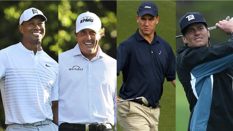 Woods-Manning VS Mickelson-Brady jugarán Torneo de Golf