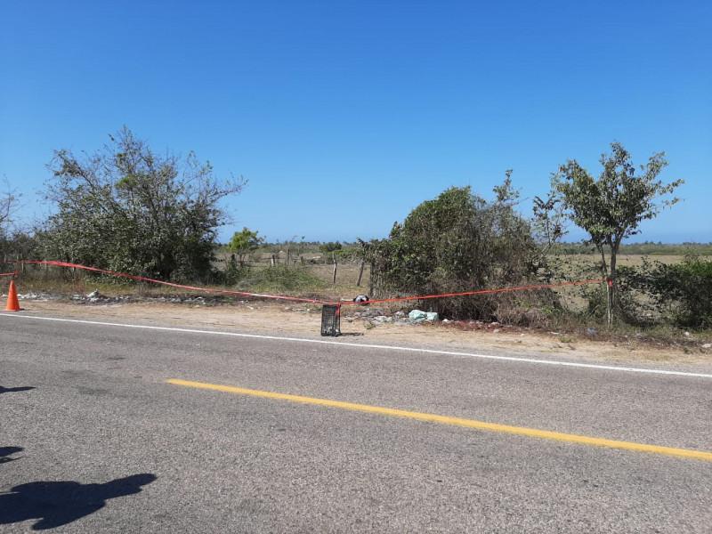 Localizan cuerpo sin vida cerca de carretera de El Rosario