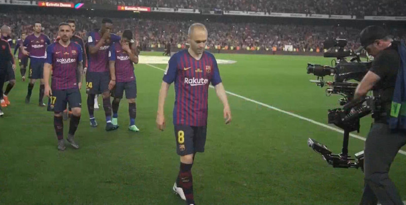 Andrés Iniesta recordó su despedida del FC Barcelona