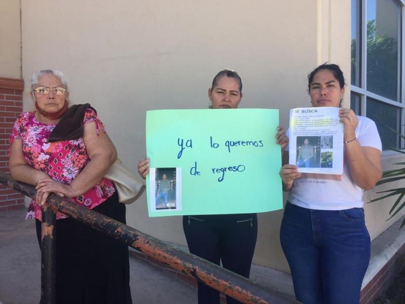 Acelerar investigación, piden familiares de desaparecido a autoridades