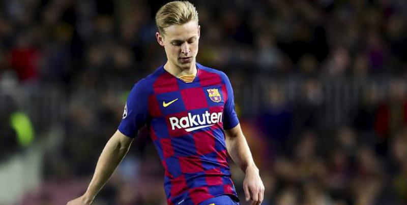 Frenkie de Jong contento por estar de regreso con el Barcelona