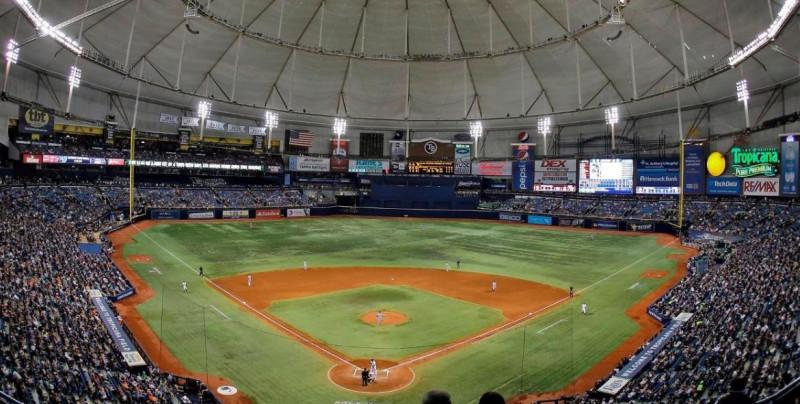 Los Rays entrenarán en su estadio a partir del lunes