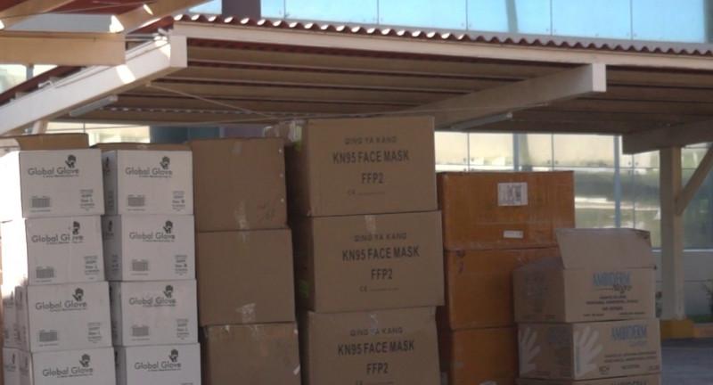 Adquiere Congreso primer paquete de insumos médicos a entregar en 43 hospitales de Sinaloa