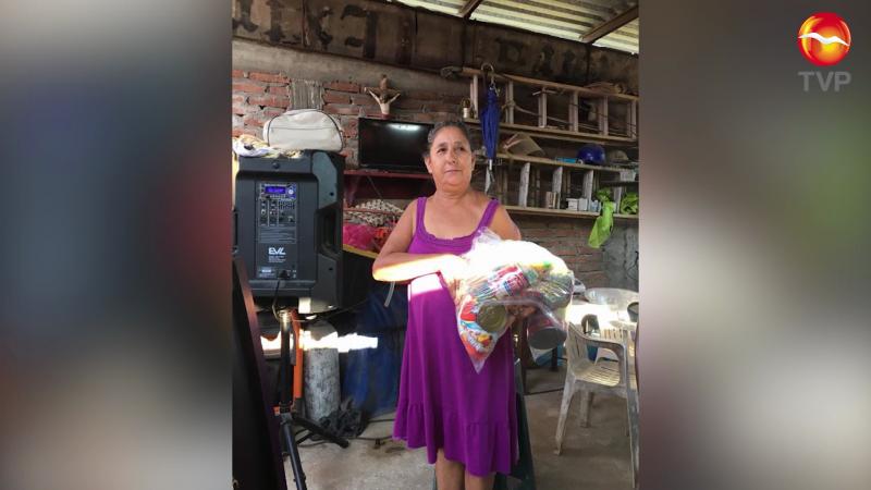 Entrega Diputado apoyos alimenticios en comunidades del Sur